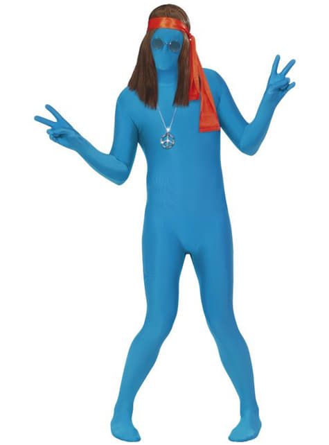 Disfraz Segunda Piel azul - Halloween