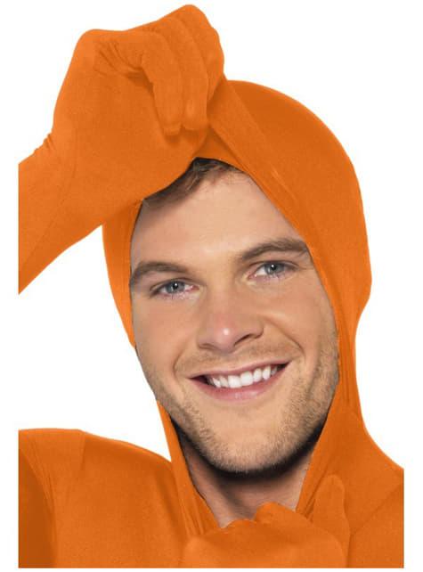 Disfraz Segunda Piel naranja - adulto