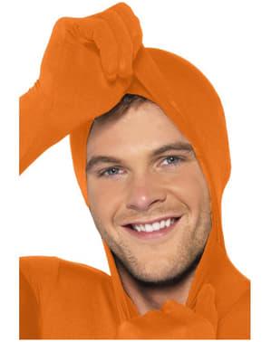 Přiléhavý oblek oranžový