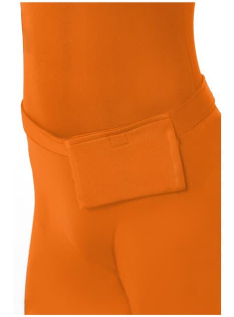 Disfraz Segunda Piel naranja - original