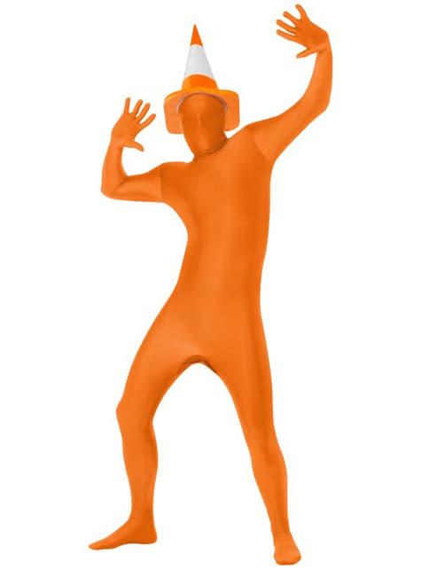 Disfraz Segunda Piel naranja - traje