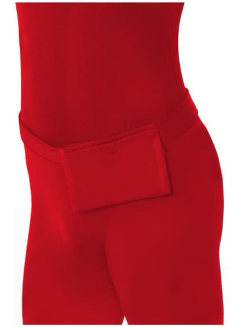 Disfraz Segunda Piel rojo - original