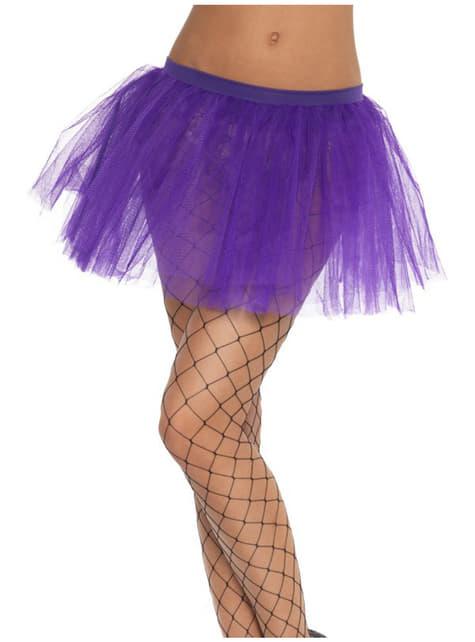 Tutu violet classique pour femme