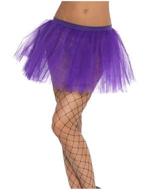 Класическа пурпурна пачка за жени