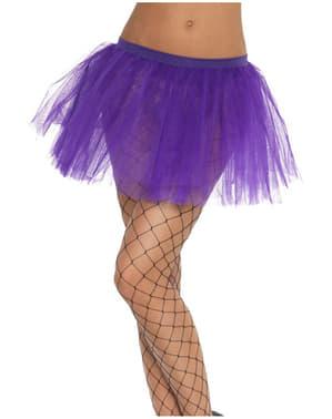 女性のための古典的な紫チュチュ