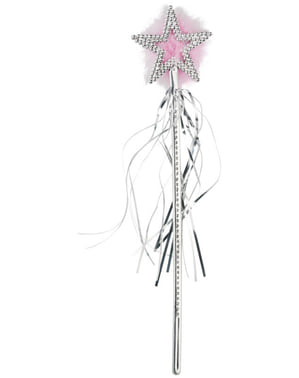 Fairy Wand with Silver Star