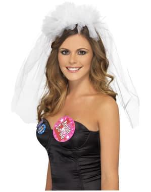 Závoj pro nevěstu deluxe