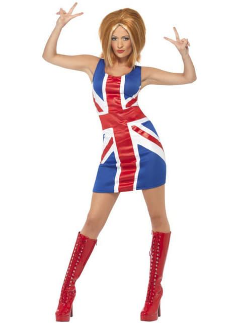 Kostium dziewczyna pop Geri