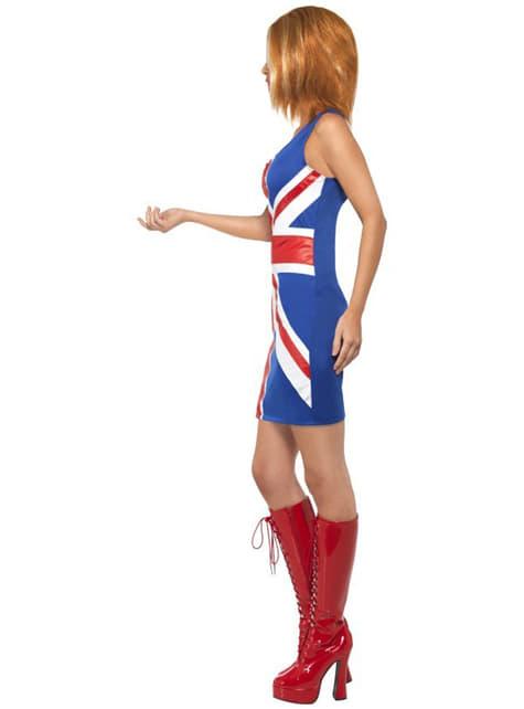Spice Girls Geri Maskeraddräkt
