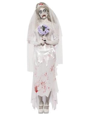 Costume da sposa zombie