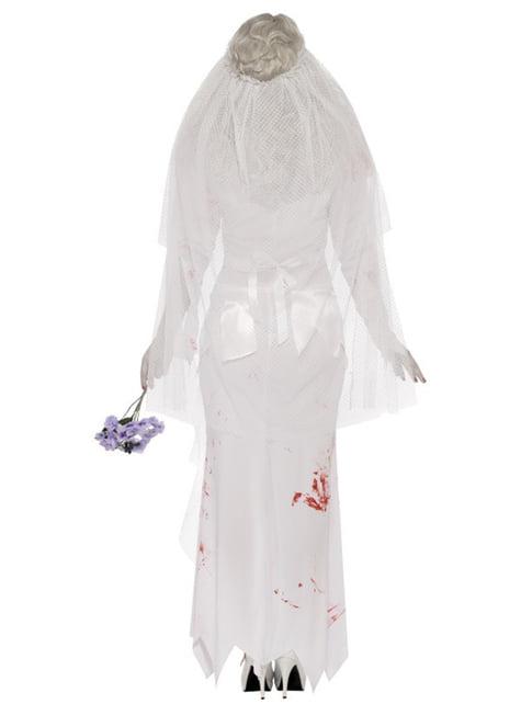Disfraz de novia zombie - mujer