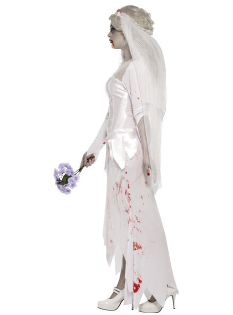 Disfraz de novia zombie - original