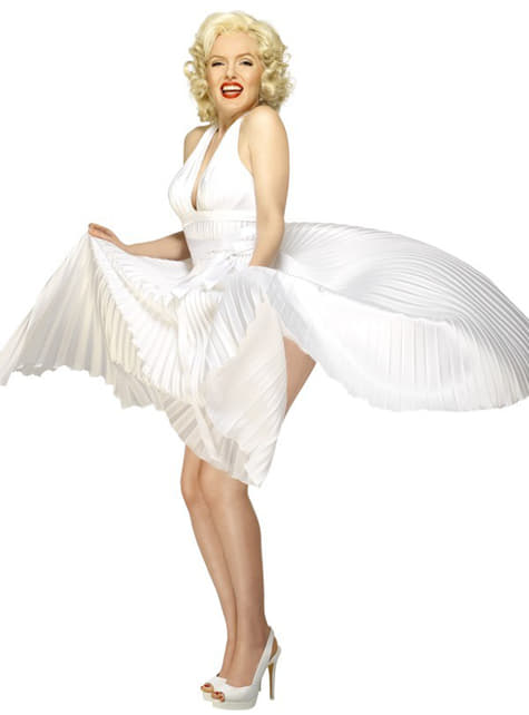 Disfraz de Marilyn Monroe Deluxe - mujer