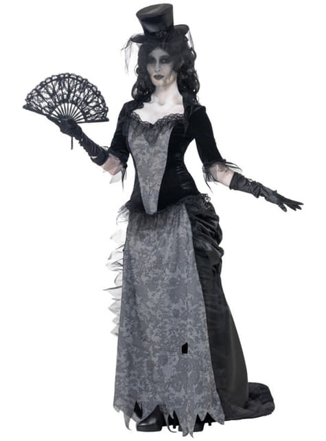 Zombie Szellem Özvegy jelmez nőknek