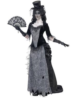 Déguisement veuve fantôme zombie femme
