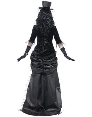 Zombie Spøkelse Enke Kostyme til Damer