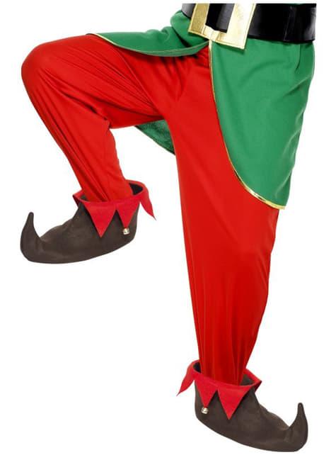 Zapatos de elfo marrones - para tu disfraz