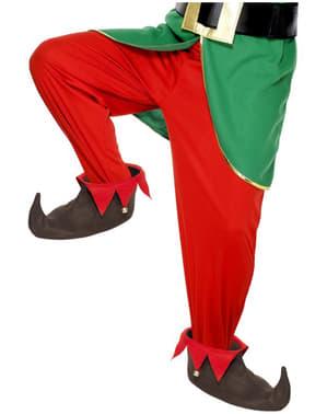 Buty elfa brązowe