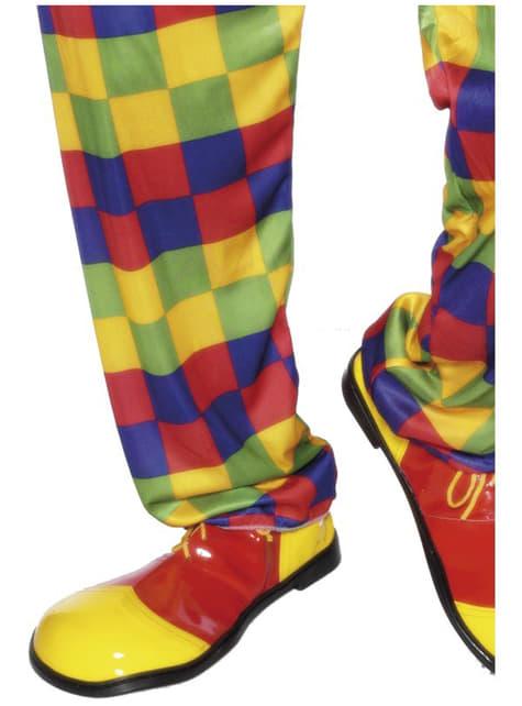 古典的なピエロの靴