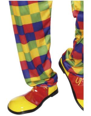 Класичні клоунські туфлі