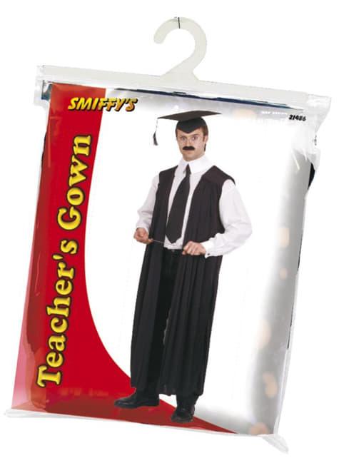 Streng professor toga