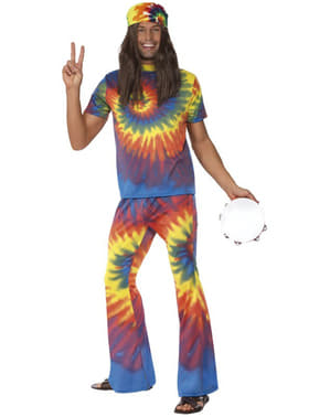 Multicoloured 60s Costume for Men
