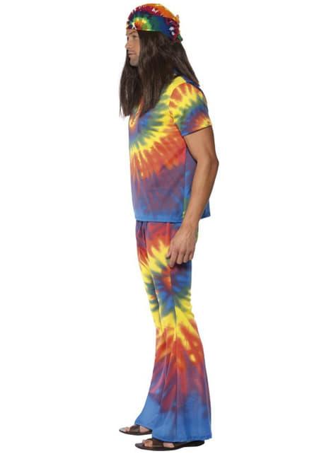 Disfraz de sesentero multicolor para hombre - original