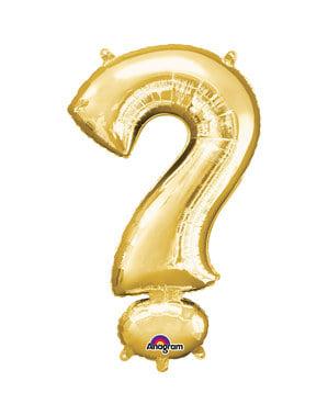 Gold ? balloon measuring 40 cm