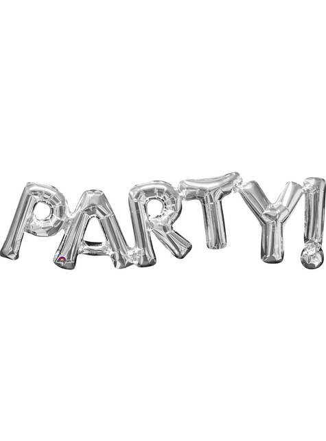 Globo Party! Plateado