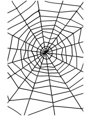 Toile d'araignée noire