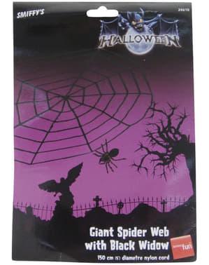 Musta hämähäkinverkko