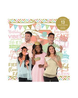 Accessoires de fête pour photocall - Confetti Fun