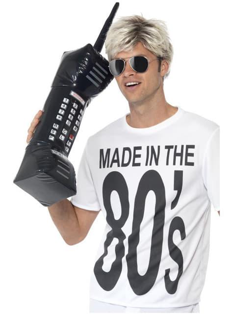 Nadmuchiwany retro telefon