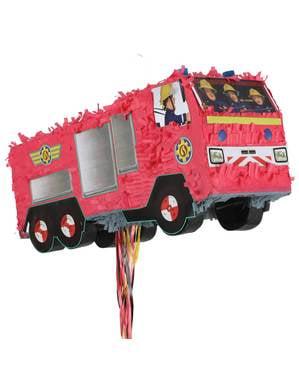 Feuerwehrmann Sam Piñata Topfschlagespiel