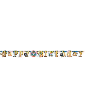 Festone Happy Birthday Pirate Party
