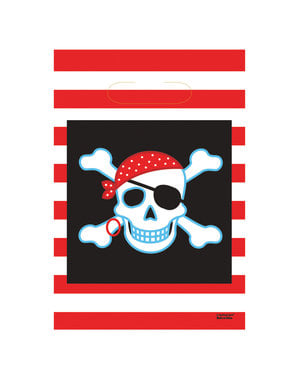 8 bolsas de chucherías Pirate Party