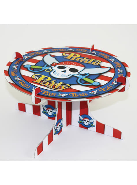 Pirate Party cake holder