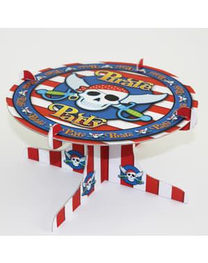 Suporte para bolo Pirate Party
