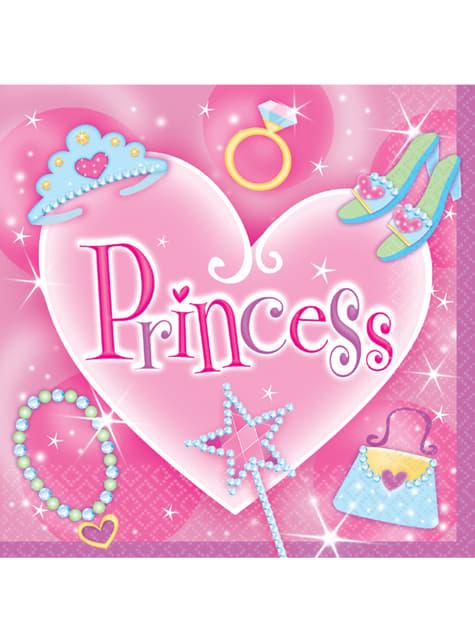 16 servilletas Princess (33x33 cm)