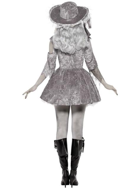 Disfraz de corsaria de barco fantasma - mujer