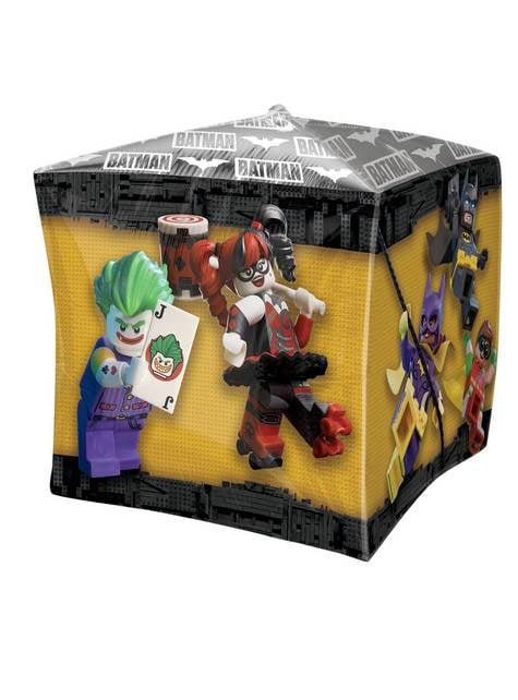 Cubo de foil LEGO Batman - para tus fiestas