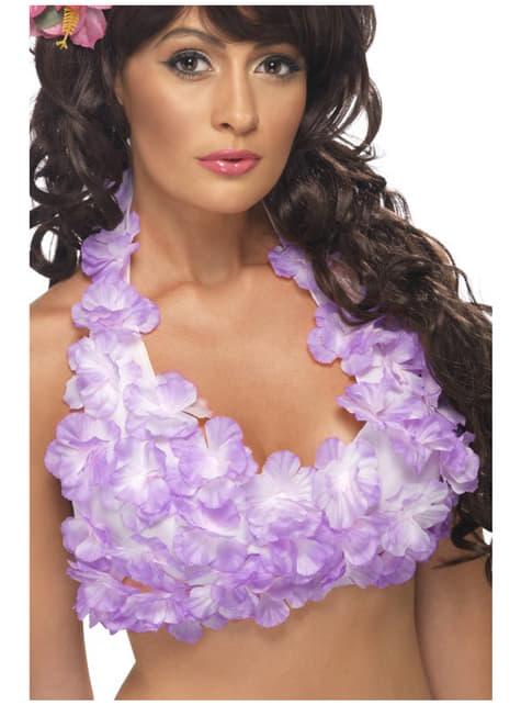 Top florido hawaiano para mujer - mujer