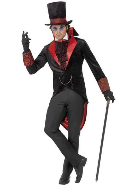 Dracula maskeraddräkt för honom