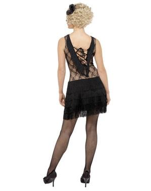 Deluxe Charleston kostuum voor vrouw