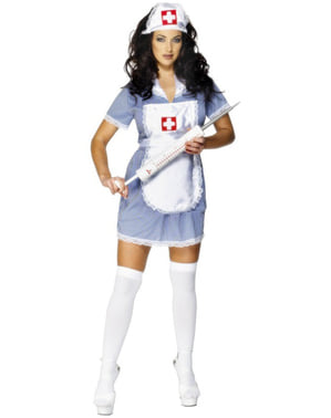Sjuksköterska Classic Maskeraddräkt Vuxen