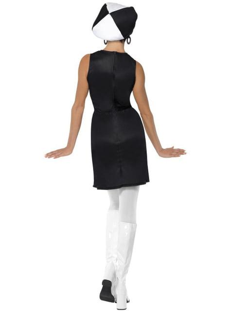 Disfraz de fiesta años 60 para mujer - mujer