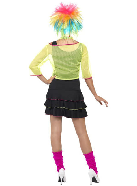 Disfraz de fiesta pop años 80 para mujer - mujer