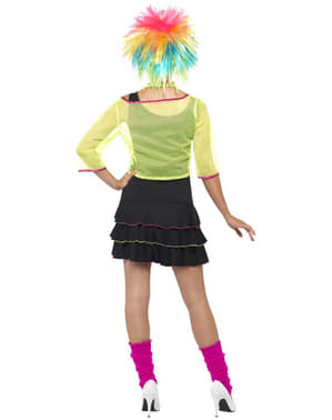 Disfraz años 80 pop para mujer