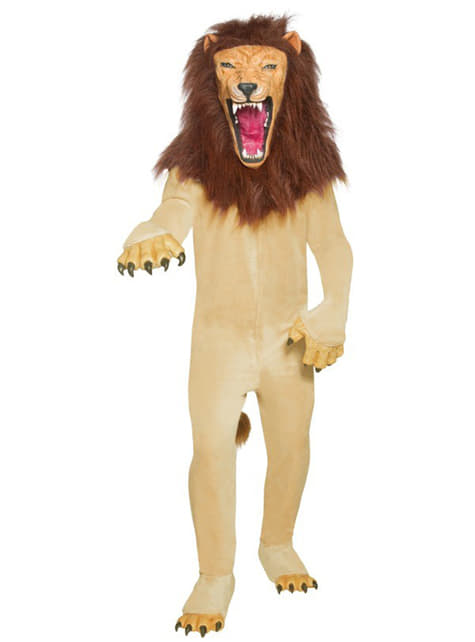 Делукс костюм за лъвове за възрастни