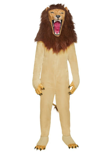 Lion Deluxe Costume for Adults